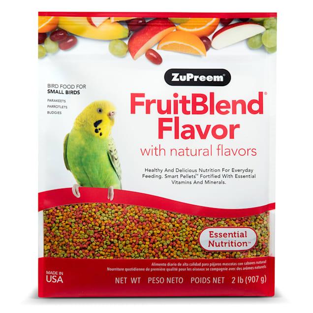 ZuPreem AvianMaintenance FruitBlend Bird Diet for Small Birds - Carousel image #1