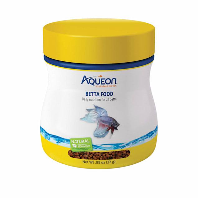 Aqueon Betta Pellets Betta Food, .95 oz. - Carousel image #1