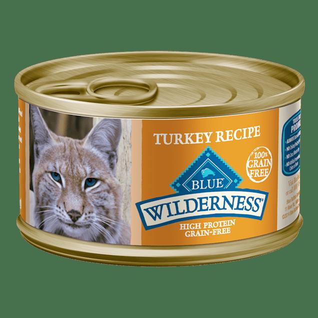Blue Buffalo Blue Wilderness Turkey Recipe Wet Cat Food, 3 oz., Case of 24 - Carousel image #1