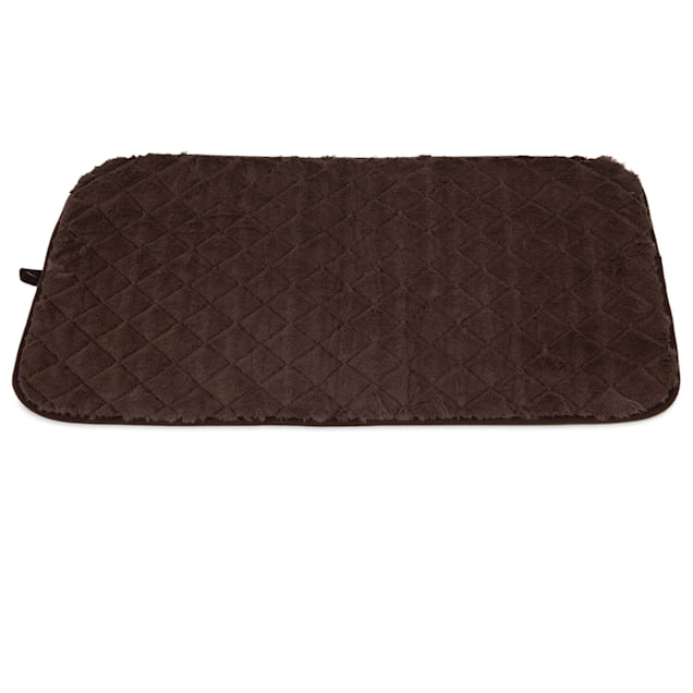 """Precision Pet SnooZZy Sleeper Chocolate Brown Crate Mat 4000, 35"""" L X 23"""" W - Carousel image #1"""