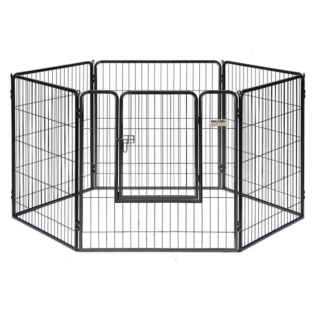 "Precision Pet Courtyard Kennel Exercise Pen, 36"" L X 36"" W X 38"" H - Carousel image #1"