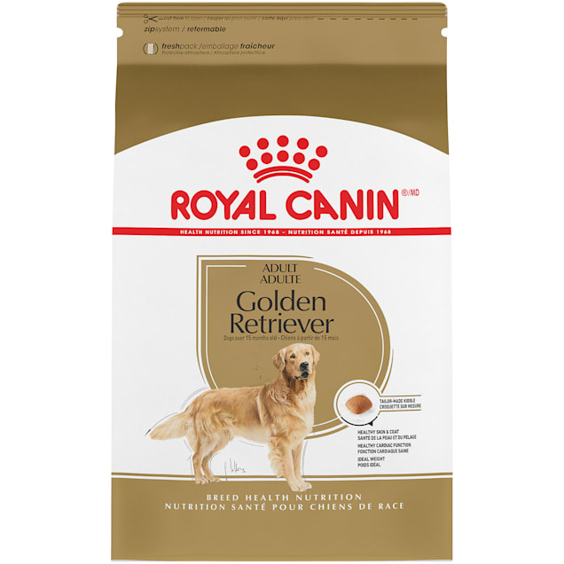 Royal Canin Breed Health Nutrition Golden Retriever Adult Dry Dog Food, 30 lbs. - Carousel image #1