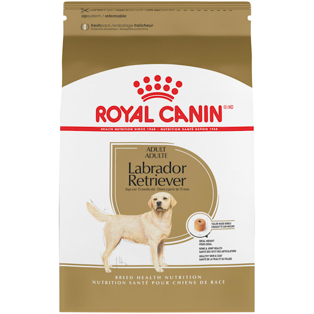Royal Canin Breed Health Nutrition Labrador Retriever Adult Dry Dog Food, 30 lbs. - Carousel image #1