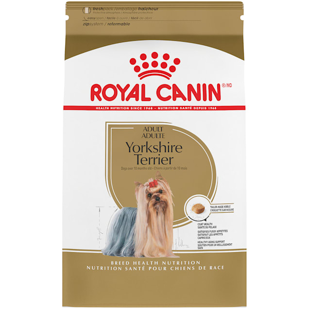 Royal Canin Breed Health Nutrition Yorkshire Terrier Adult Dry Dog Food, 10 lbs. - Carousel image #1