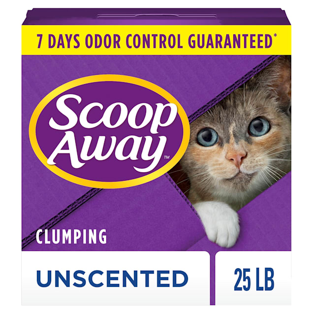 Scoop Away Unscented Clumping Cat Litter, 25 lbs. - Carousel image #1