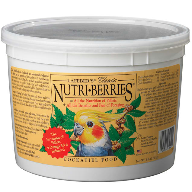 Lafeber's Nutri-Berries Cockatiel Food - Carousel image #1