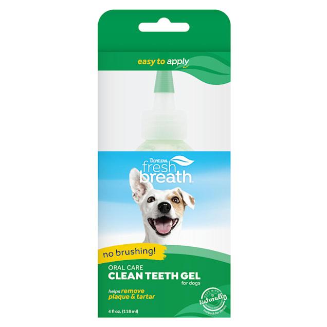 TropiClean Fresh Breath Clean Teeth Gel for Dogs - Carousel image #1