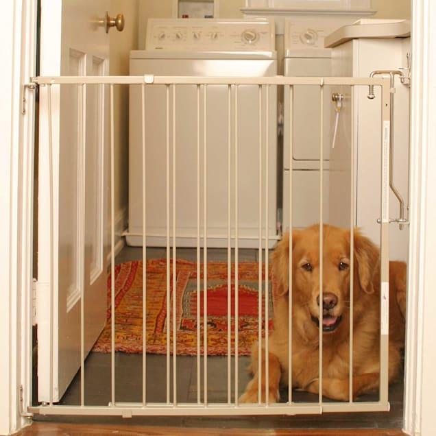 Cardinal Gates Taupe Duragate Pet Gate - Carousel image #1