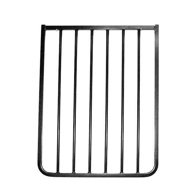 """Cardinal Gates 21 3/4"""" Black Gate Extension - Carousel image #1"""