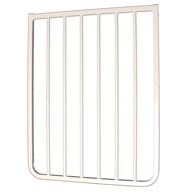 """Cardinal Gates 21 3/4"""" White Gate Extension - Carousel image #1"""