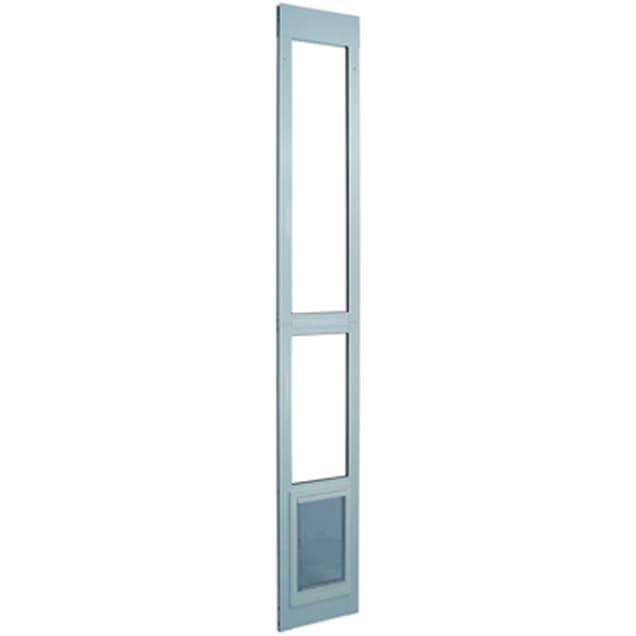 Perfect Pet Modular Patio Panel Pet Door in White, 9.75IN x 1.625IN x 40.75IN - Carousel image #1