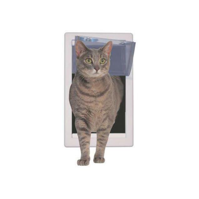 Perfect Pet Soft Flap Cat Door, 7IN x 2.125IN x 14.875IN - Carousel image #1