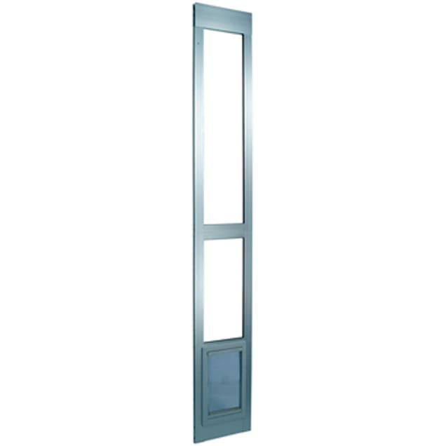 Perfect Pet Modular Patio Panel Pet Door in Mill, 15.375IN x 1.875IN x 40.75IN - Carousel image #1