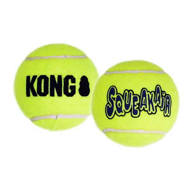 KONG SqueakAir Tennis Ball, X-Large - Carousel image #1