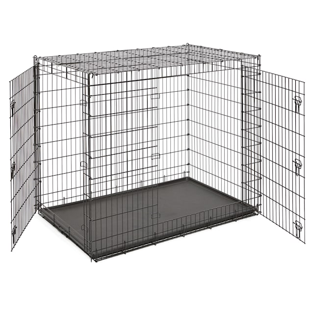 """Midwest Solution Series """"Ginormus"""" Double Door Dog Crate, 54"""" L X 37"""" W X 45"""" H - Carousel image #1"""