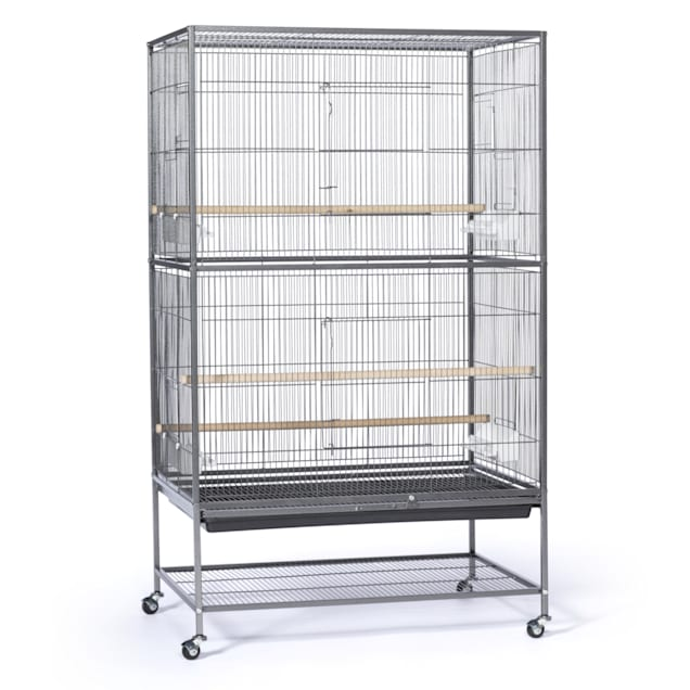 Prevue Pet Products Large Black Flight Bird Cage - Carousel image #1