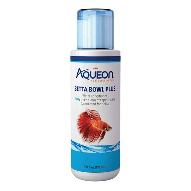 Aqueon Betta Bowl Plus Water Conditioner & Dechlorinator, 4 oz. - Carousel image #1