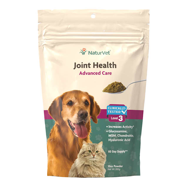 NaturVet Naturals Joint Health Level 3 Dog & Cat Advanced Joint Support Supplement - Carousel image #1