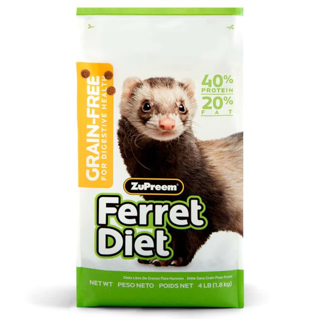 ZuPreem Grain Free Ferret Diet, 4 lbs - Carousel image #1