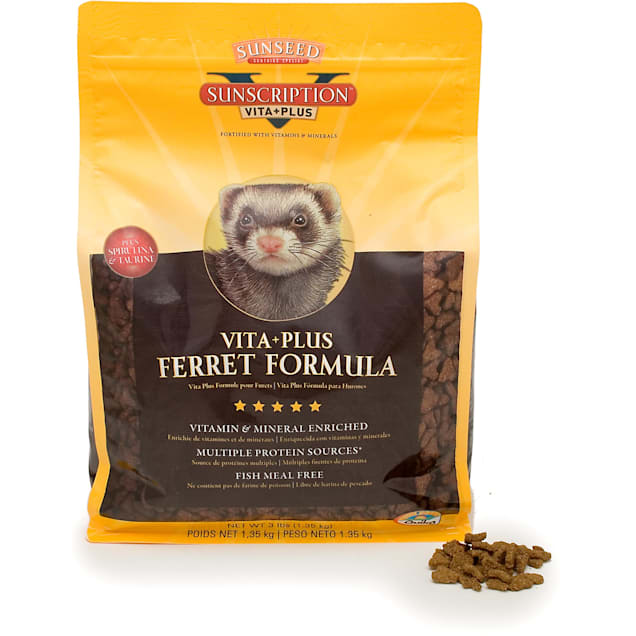 Sun Seed Vita Prima Sunscription Ferret Food, 3 lbs. - Carousel image #1