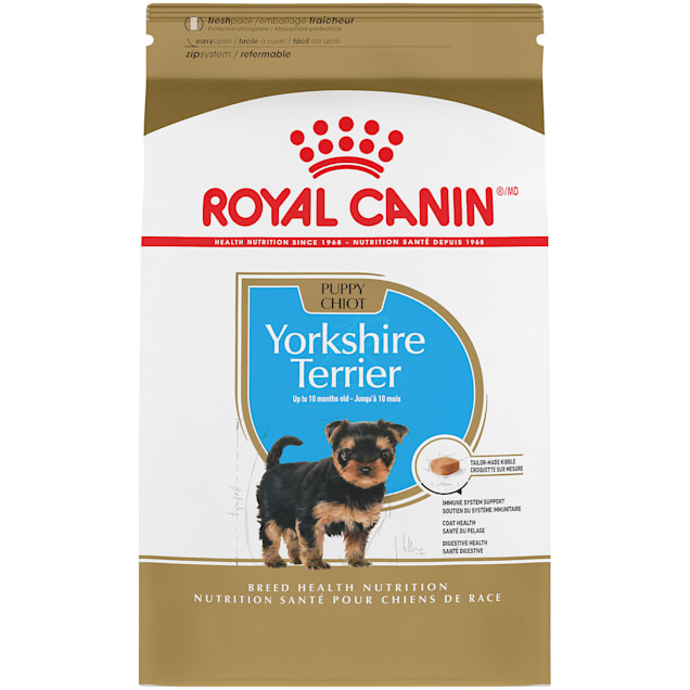 Royal Canin Breed Health Nutrition Yorkshire Terrier Puppy Dry Dog Food, 2.5 lbs. - Carousel image #1
