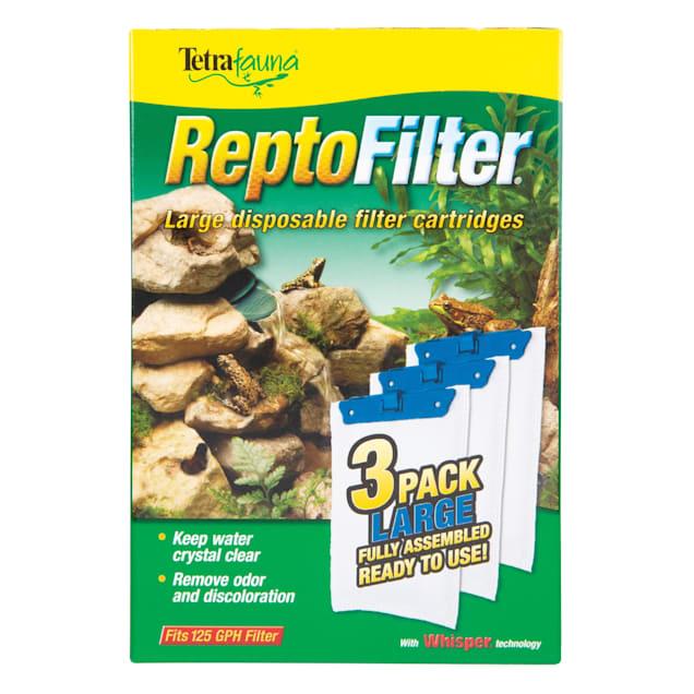 Tetra Fauna Large Reptofilter Filter Cartridges Refills, 3 Count - Carousel image #1