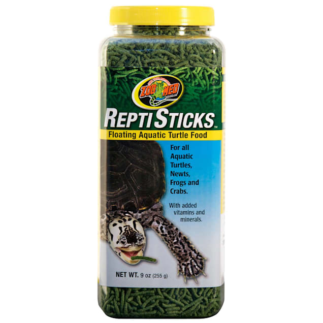 Zoo Med ReptiSticks Floating Aquatic Turtle Food, 9 oz. - Carousel image #1