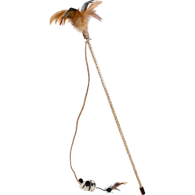 Our Pet's Tiger Teaser Play Wand Cat Toy - Carousel image #1
