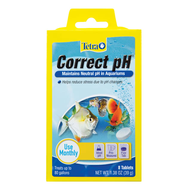 Tetra Correct Ph 7 0 Tablets For Aquarium Water 8 Count Petco