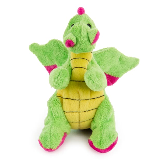 goDog Mini Plush Dragon Dog Toy - Carousel image #1