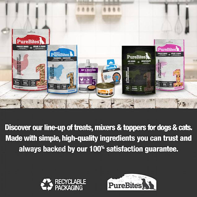 PureBites Beef Liver Mid Size Dog Treats, 16.6 oz. - Carousel image #1