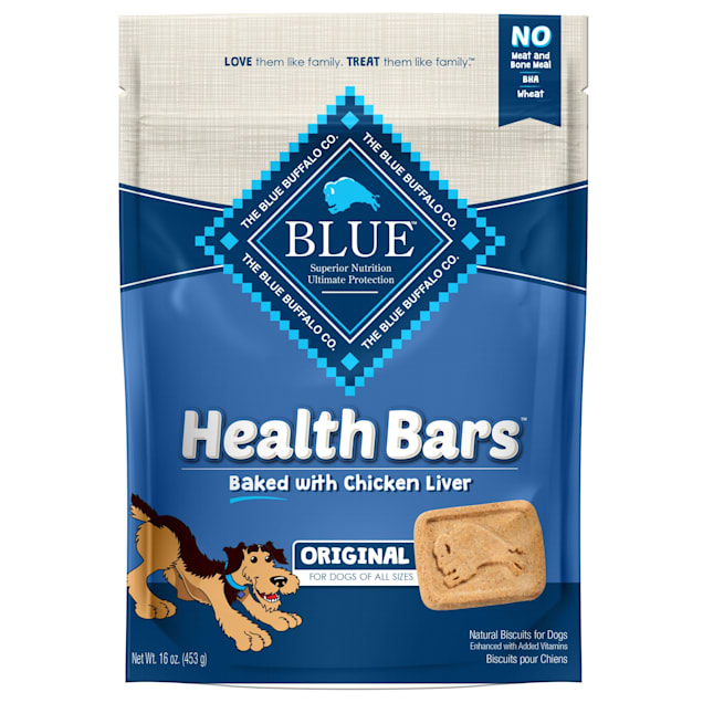 Blue Buffalo Blue Health Bars With Chicken Liver Dog Treats, 16 oz. - Carousel image #1