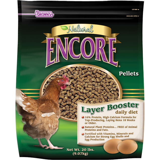 Brown's Layer Booster Daily Diet Chicken Feed - Carousel image #1