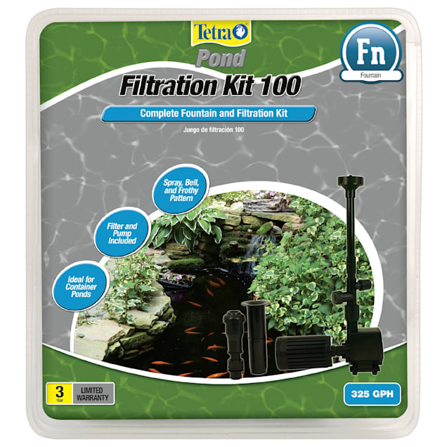 TetraPond Filtration Fountain Kit 100 - Carousel image #1