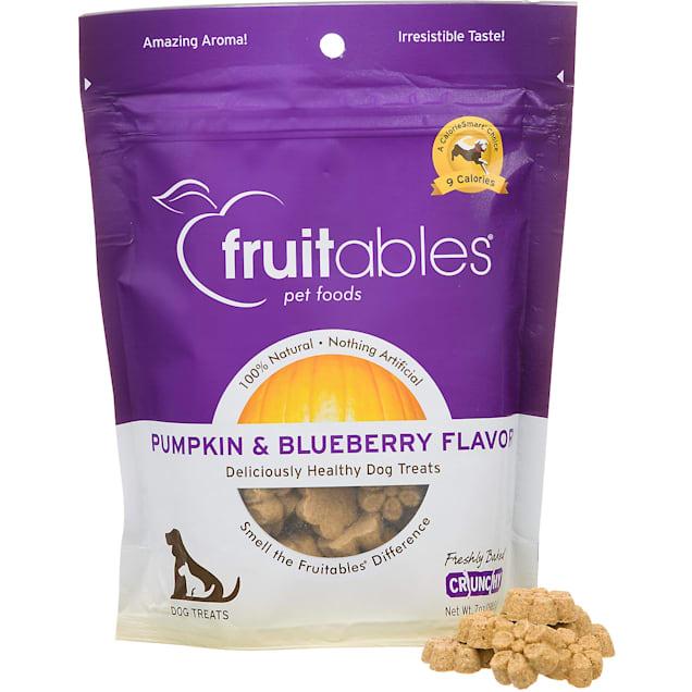 Fruitables Pumpkin & Blueberry Natural Dog Biscuits - Carousel image #1