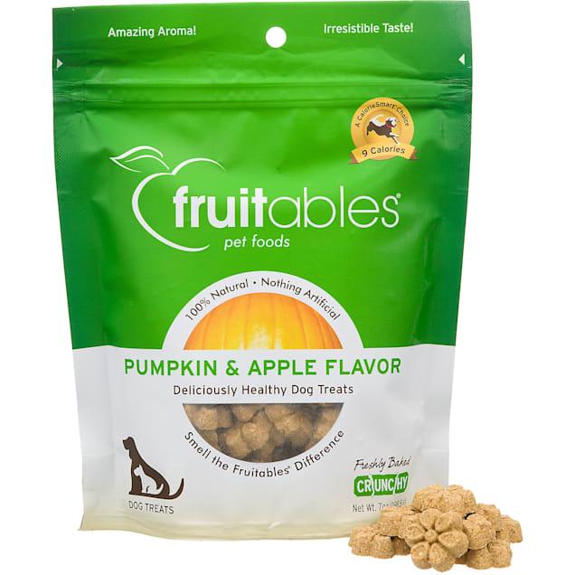 Fruitables Pumpkin & Apple Natural Dog Biscuits - Carousel image #1