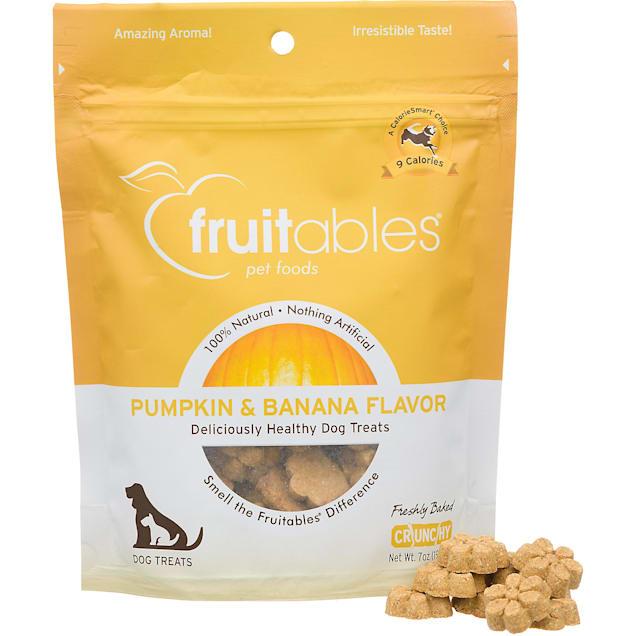 Fruitables Pumpkin & Banana Natural Dog Biscuits - Carousel image #1