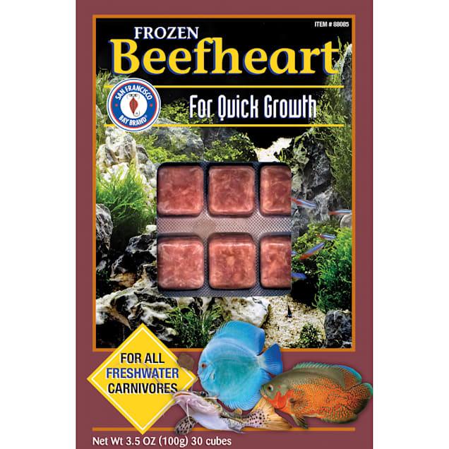 San Francisco Bay Brand Frozen Beefheart, 3.5 oz. - Carousel image #1