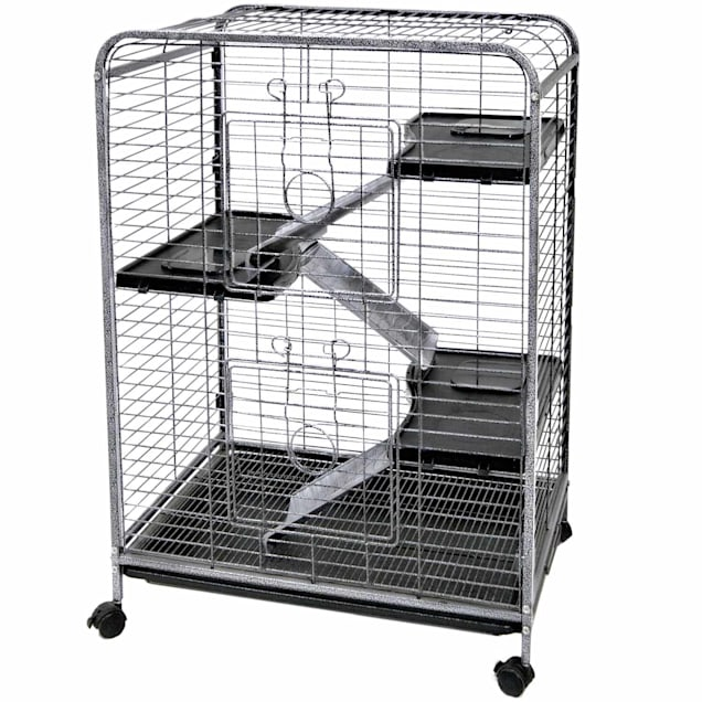 WARE Indoor 4 Level Hutch Small Animal Cage - Carousel image #1