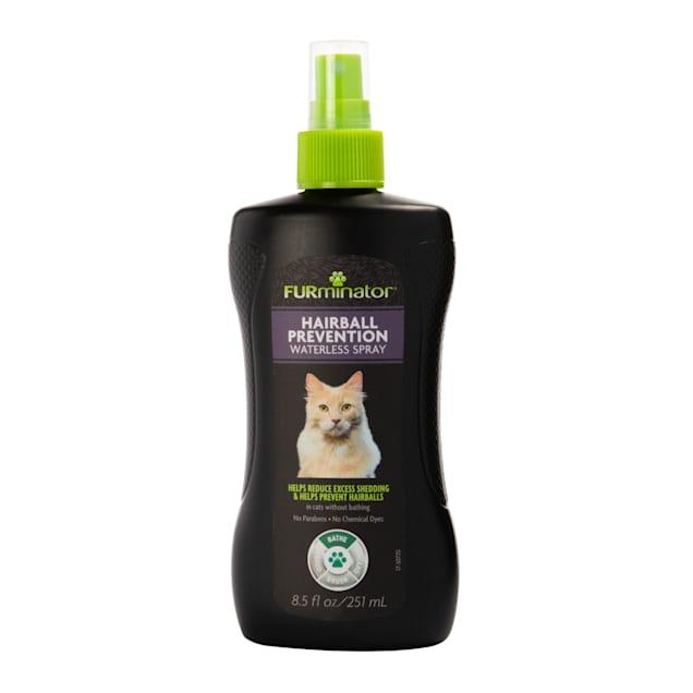 FURminator Hairball Prevention Waterless Cat Spray - Carousel image #1
