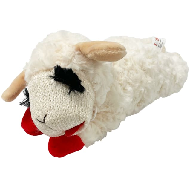 Multipet Lamb Chop Dog Toy, Medium - Carousel image #1