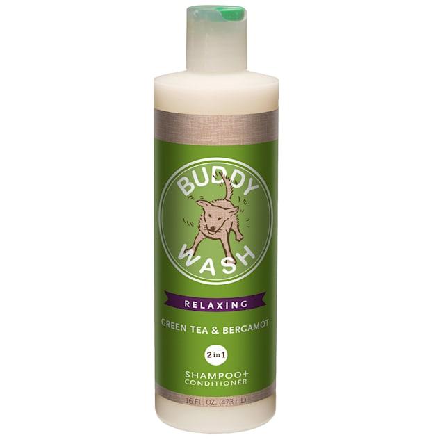 Cloud Star Buddy Wash Green Tea & Bergamot 2 in 1 Dog Shampoo Plus Conditioner - Carousel image #1