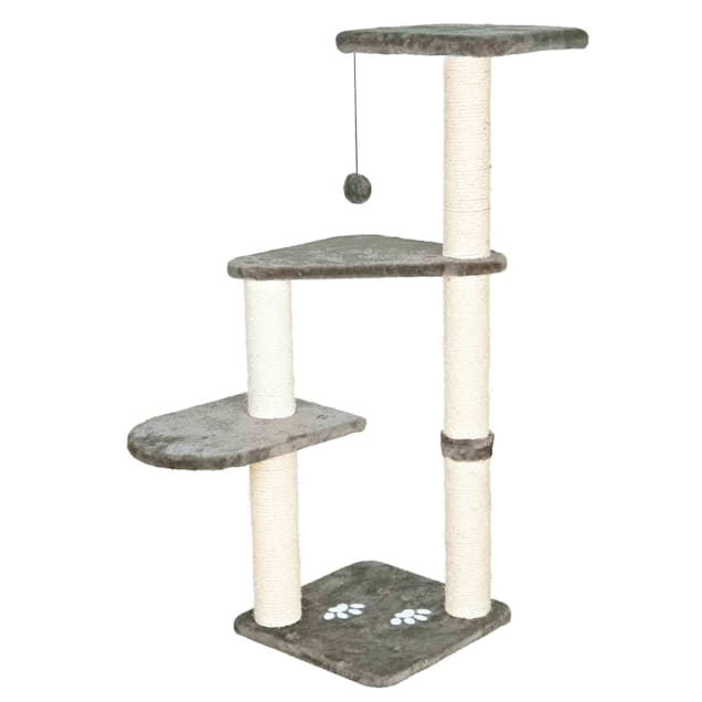 "Trixie DreamWorld Altea Platinum Gray Cat Tree, 46"" H - Carousel image #1"