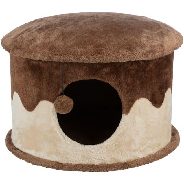 Trixie Dreamworld Plush Cat House Petco