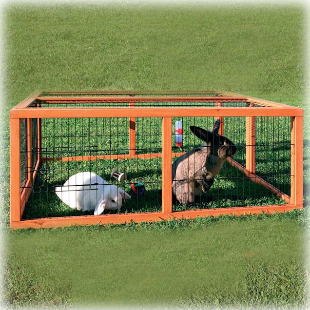 Trixie Natura Rabbit Hutch Enclosure - Carousel image #1