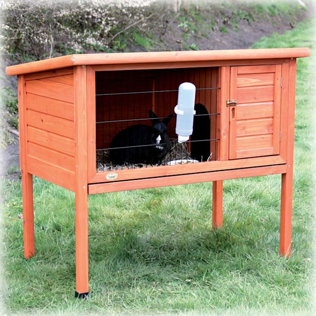 Trixie Natura One Story Rabbit Hutch - Carousel image #1