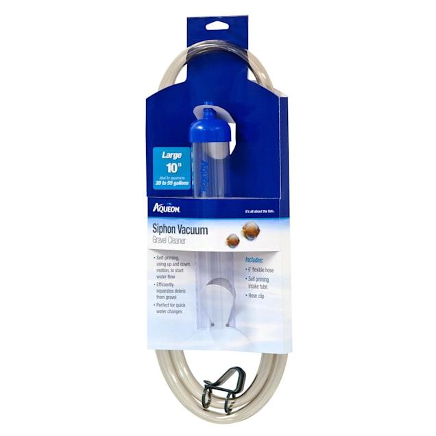 """Aqueon Siphon Vacuum Aquarium Gravel Cleaner, Large, 10"""" - Carousel image #1"""