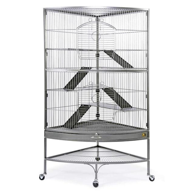 Prevue Pet Products Corner Black Ferret Cage - Carousel image #1