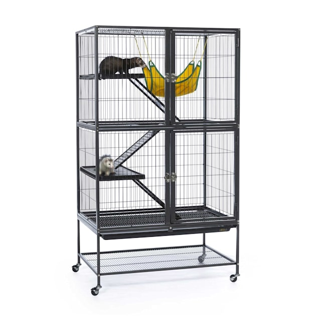 Prevue Pet Products Black Feisty Ferret Cage - Carousel image #1