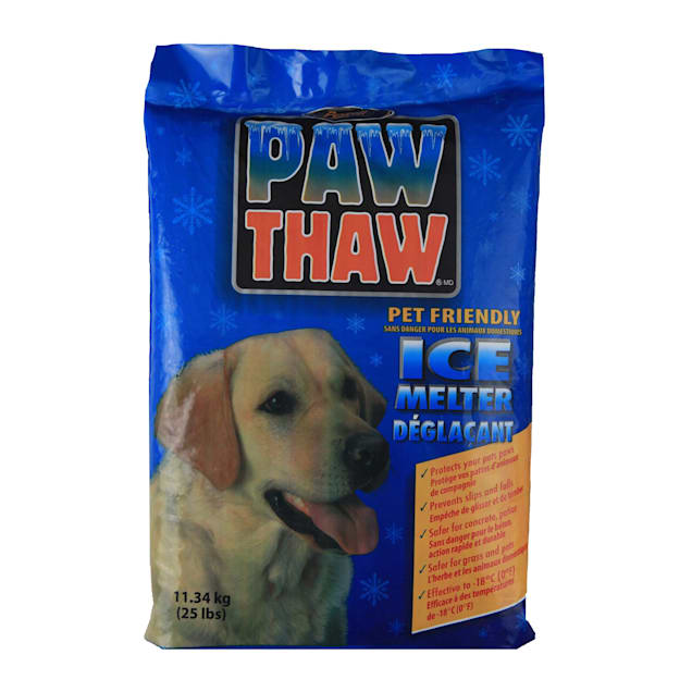 Pestell Paw Thaw Pet Friendly Ice Melter, Bag, 25 lbs. - Carousel image #1